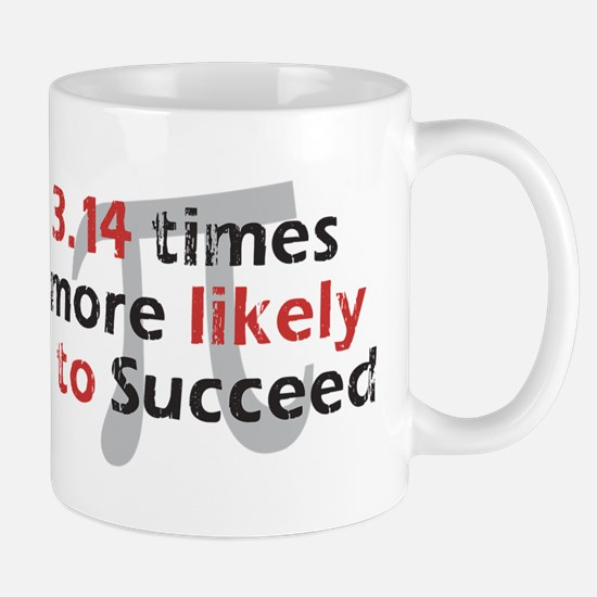 Pi Success Funny Math (right) Mug