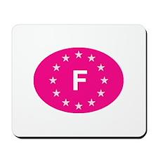 EU Pink France Mousepad