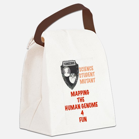Student Mutant Canvas Lunch Bag