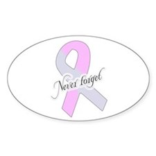 Never Forget! Pregnancy & Infant Loss Ribbon Stick