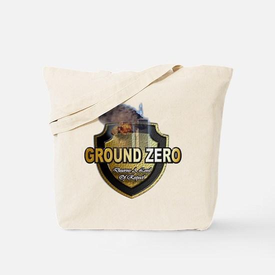 Funny Ground zero Tote Bag