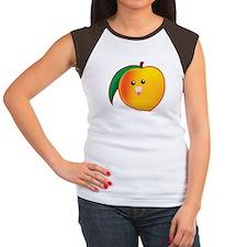 Peach Women's Cap Sleeve T-Shirt