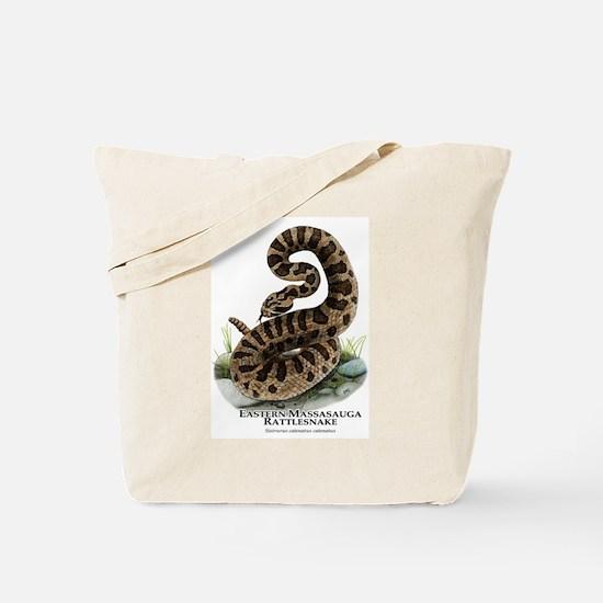 Eastern Massasauga Rattlesnake Tote Bag