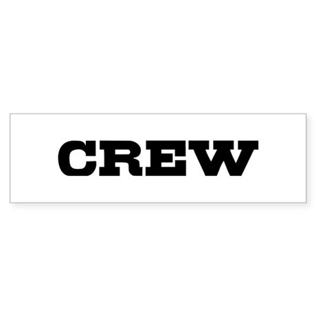 Crew Sticker (Bumper)