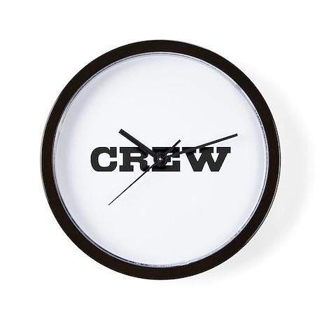 Crew Wall Clock