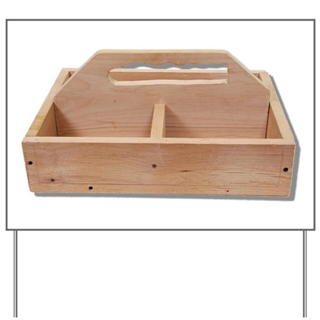 Tool Box Wooden Yard Sign