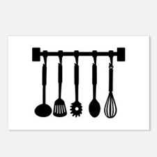 Kitchen equipment Postcards (Package of 8)