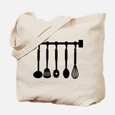Kitchen equipment Tote Bag