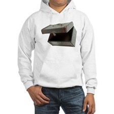 Top Leather Box Hoodie