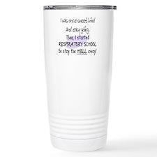 Respiratory Therapy 9 Travel Coffee Mug