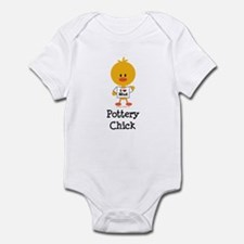Pottery Chick Infant Bodysuit