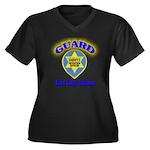 Guard Tent City Maricopa Coun Women's Plus Size V-