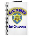 Guard Tent City Maricopa Coun Journal