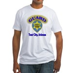 Guard Tent City Maricopa Coun Fitted T-Shirt