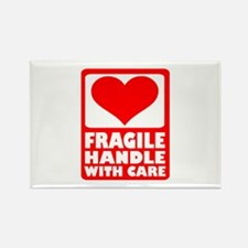 Fragile handle with care Rectangle Magnet