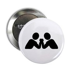 """Arm wrestling 2.25"""" Button (10 pack)"""