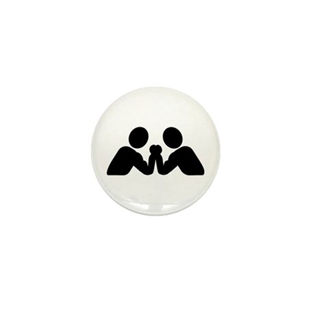 Arm wrestling Mini Button (100 pack)