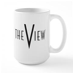 The View Logo Mug