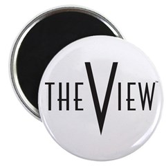 The View Logo Magnet