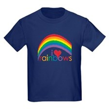 I Love Rainbows T