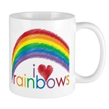 I Love Rainbows Mug