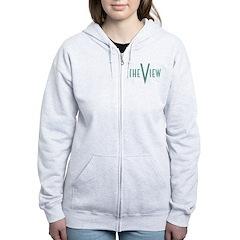 The View Teal Logo Zip Hoodie