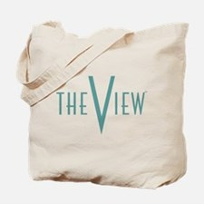 The View Teal Logo Tote Bag