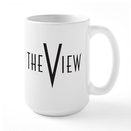 The View Logo Large Mug