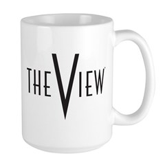 The View Logo Large Mug