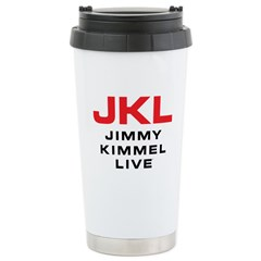 JKL Logo (Stacked) Stainless Steel Travel Mug
