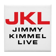 JKL Logo (Stacked) Tile Coaster