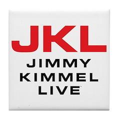 JKL Logo (Stacked) Tile Coaster
