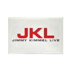 JKL Red Logo Rectangle Magnet