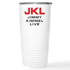 JKL Logo (Stacked) Stainless Steel Travel Mug