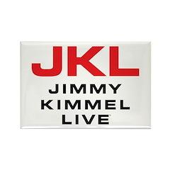 JKL Logo (Stacked) Rectangle Magnet