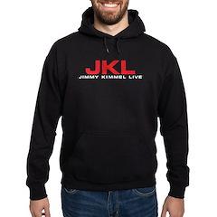 JKL Red Logo Hoodie (dark)