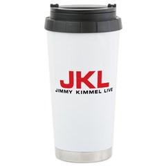 JKL Red Logo Travel Mug