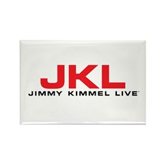 JKL Red Logo Rectangle Magnet