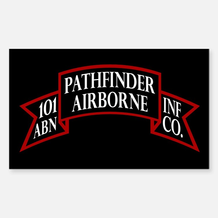 101st Pathfinders Decal