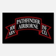 101st Pathfinders Sticker (Rectangle)