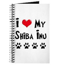 I Love My Shiba Inu Journal