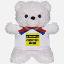 WARNING: Circuitous Arguer Teddy Bear