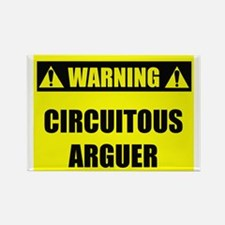 WARNING: Circuitous Arguer Rectangle Magnet