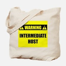 WARNING: Intermediate Host Tote Bag