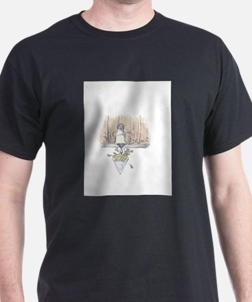 Unique Crystal rock T-Shirt