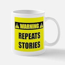 WARNING: Repeats Stories Mug