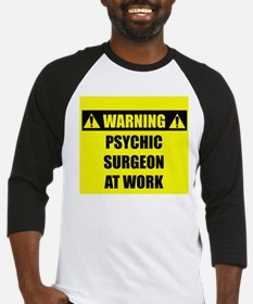WARNING: Psychic Surgeon Baseball Jersey