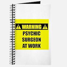 WARNING: Psychic Surgeon Journal