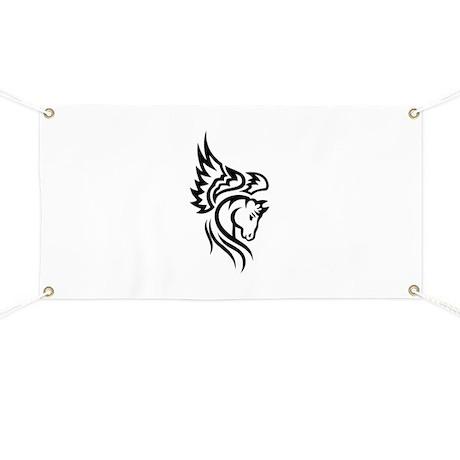 Tribal Pegasus Banner