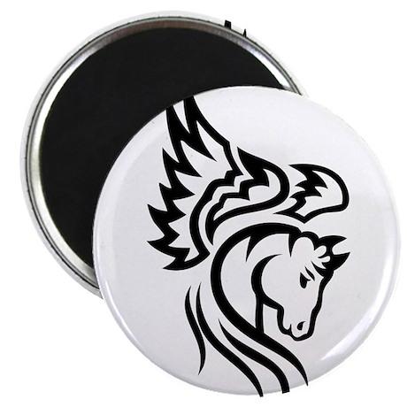 """Tribal Pegasus 2.25"""" Magnet (100 pack)"""